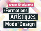 STUDYRAMA - SALON DES FORMATIONS ART, MODE ET DESIGN