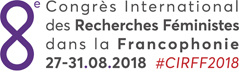CONGRES INTERNATIONAL DES RECHERCHES FEMINISTES