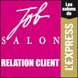 L'EXPRESS : JOB SALON RELATION CLIENT