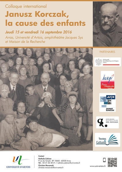 COLLOQUE INTERNATIONAL JANUSZ KORCZAK, LA CAUSE DES ENFANTS